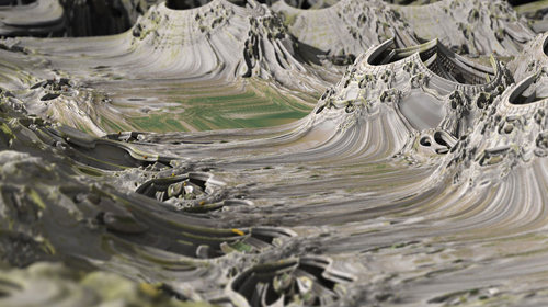 """In The Rough"" Mandelbulb Photography by Matthew Haggett"
