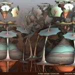 """Cloned Cones"" by Ricky Jarnagin"